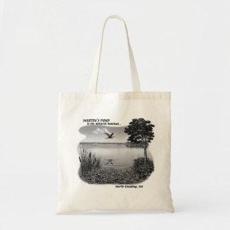 Martin's Pond Tote Tote Bags