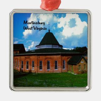 Martinsburg West Virginia Metal Ornament