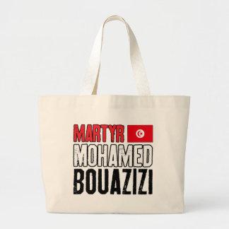 Mártir Mohamed Bouazizi Bolsa Tela Grande