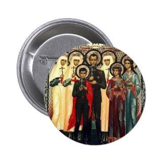 Mártires reales santos pin redondo 5 cm