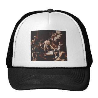 Martirio de Caravaggio- de St Matthew Gorras De Camionero
