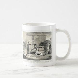 Martirio de José y de Hiram Smith en la cárcel de Taza De Café
