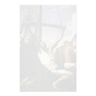Martirio de Jusepe de Ribera- The de St Philip Papelería Personalizada