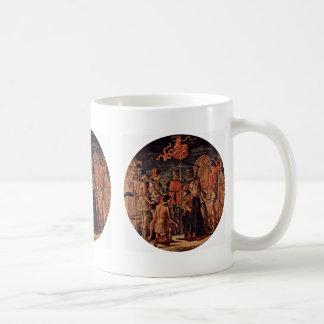 Martirio de Maurelius Tondo de Tura Cosmè Taza De Café