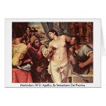 Martirio de St. Agatha, por Sebastiano del Piombo Felicitación