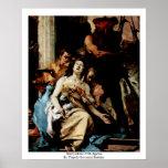 Martirio de St. Agatha Póster