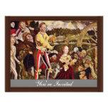 Martirio de St. Catherine por Cranach D. Ä. Lucas Invitaciones Personalizada