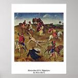Martirio de St. Hippolytus por los combates Dieric Posters