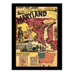 Martland la vieja línea estado tarjetas postales