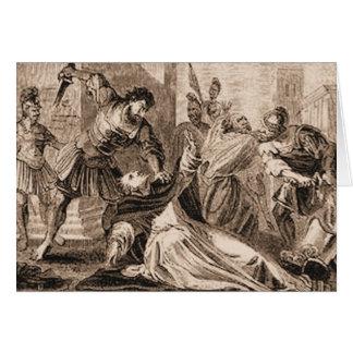 Martrdom of Saint James Greeting Card