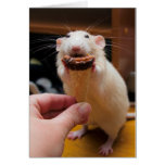 Marty Eating Ice Cream Greeting Card