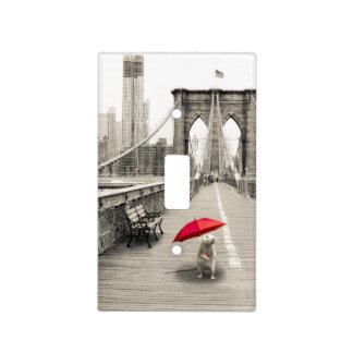 Marty Mouse / Brooklyn Bridge Light Switch Cover