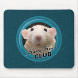 Marty Mouse Club Mousepad with Background