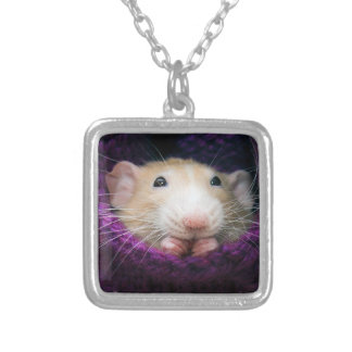 Marty Mouse in a Sock Necklace