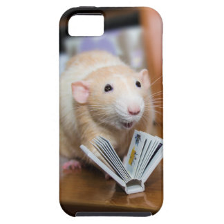Marty Mouse iPhone Case - Love to Read!