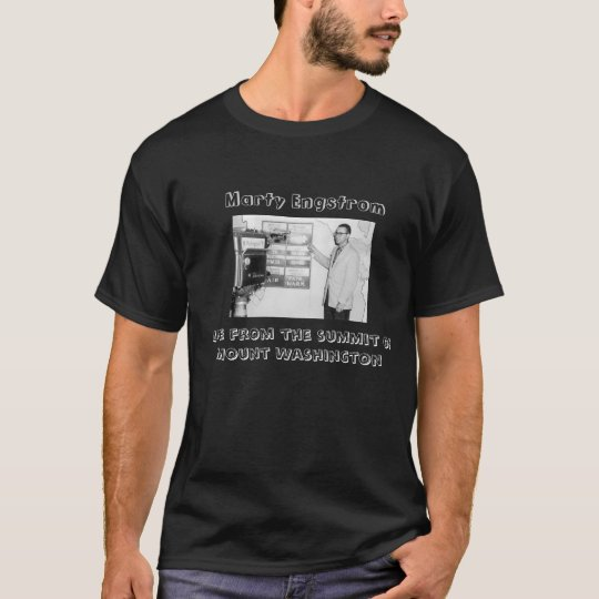 Marty on the Mountain T-shirt