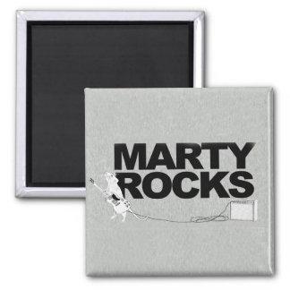 Marty Rocks Magnet