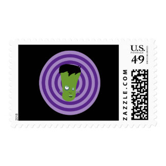 Marty The Monster Postage Stamp