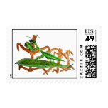 Marty the Praying Mantis Stamps