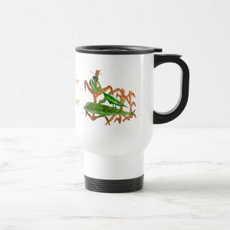 Marty the Praying Mantis Travel Mug