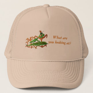 Marty The Praying Mantis Trucker Hat