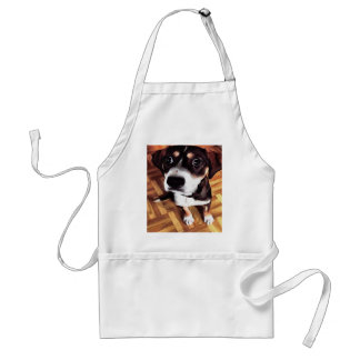 Marty The Soulful Eyed Dog Adult Apron