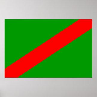 Martyazo Burundi flag Posters