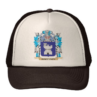 Martynov Coat of Arms - Family Crest Hat