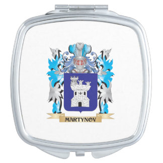 Martynov Coat of Arms - Family Crest Vanity Mirrors