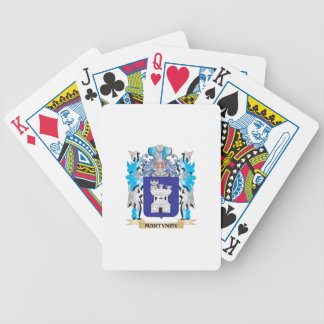 Martynov Coat of Arms - Family Crest Card Decks