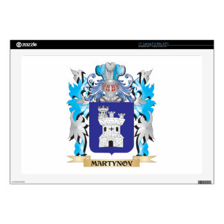 """Martynov Coat of Arms - Family Crest Decal For 17"""" Laptop"""