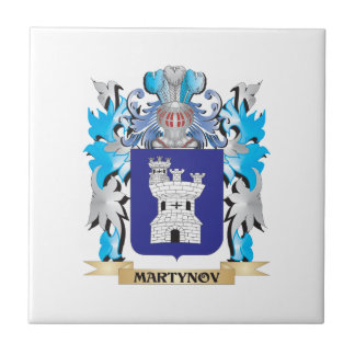 Martynov Coat of Arms - Family Crest Tiles