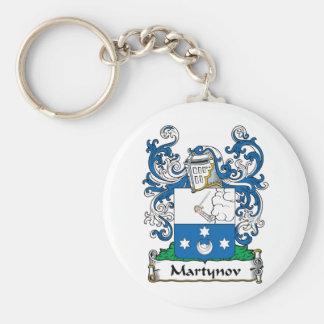 Martynov Family Crest Keychains