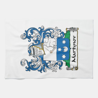 Martynov Family Crest Towels