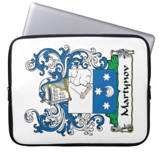 Martynov Family Crest Laptop Computer Sleeve