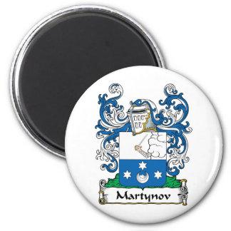 Martynov Family Crest Magnet