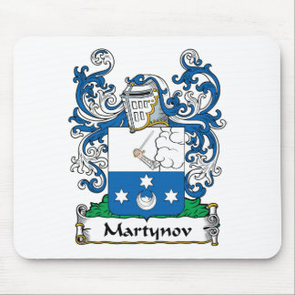 Martynov Family Crest Mouse Pads