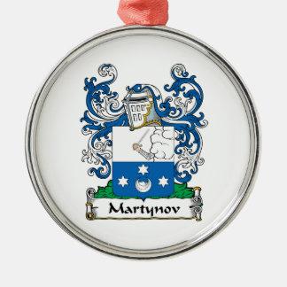 Martynov Family Crest Ornament