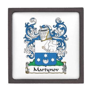 Martynov Family Crest Premium Trinket Boxes
