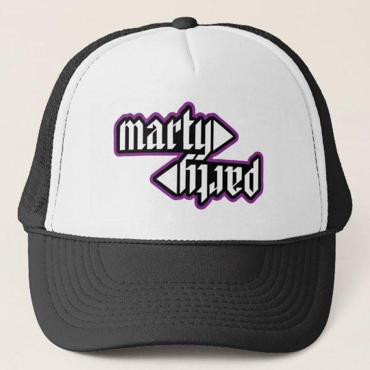 MartyParty 2012 Logo Trucker Cap