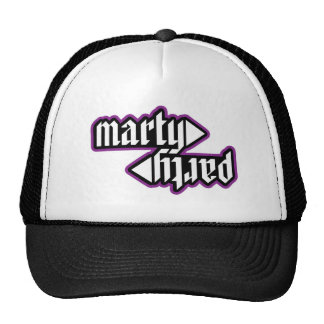 MartyParty 2012 Logo Trucker Cap Trucker Hat