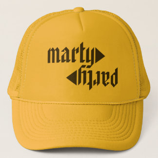 MARTyPARTy HTML Yellow Trucker Hat