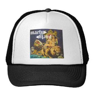 MartyParty Purple Trucker Cap Trucker Hat