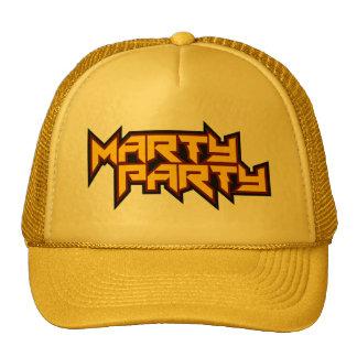 MARTyPARTy Yellow Trucker Cap 3 Trucker Hat
