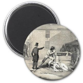 Martyrdom of Joseph & Hiram Smith in Carthage Jail Fridge Magnets