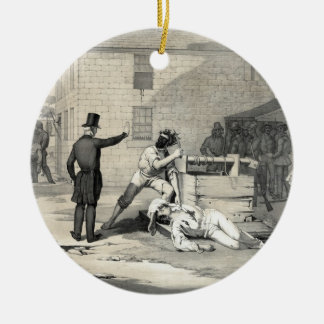 Martyrdom of Joseph & Hiram Smith in Carthage Jail Christmas Ornament