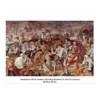 Martyrdom Of St. Andrew Postcard