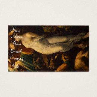 'Martyrdom of St. Catherine' Business Card