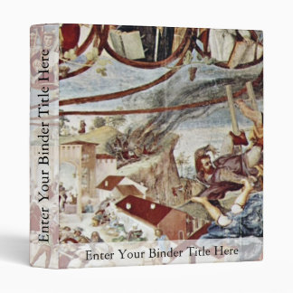 Martyrdom Of St. Clare By Lotto Lorenzo (Best Qual Vinyl Binder