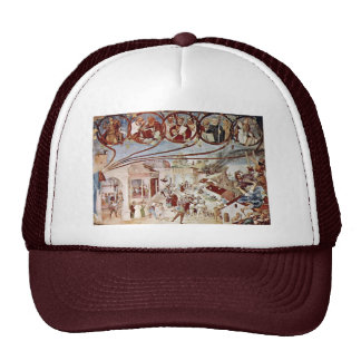 Martyrdom Of St Clare By Lotto Lorenzo Best Qual Hat